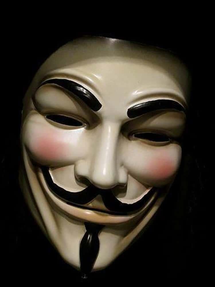 V's Guy Fawkes Mask - V for Vendetta