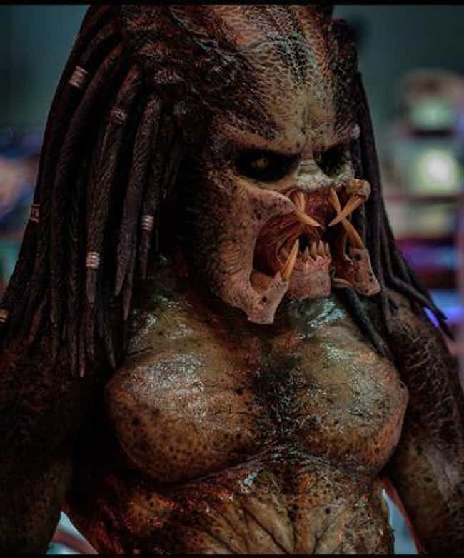 The Predator is listed (or ranked) 4 on the list The Greatest Masked Villains