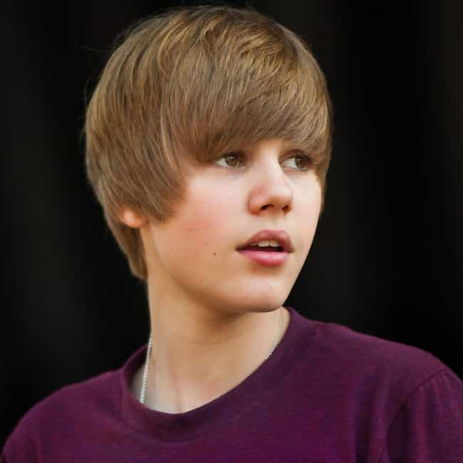 A 14-Year-Old Justin Bieber Ta... is listed (or ranked) 2 on the list The Douchiest Things Justin Bieber Has Ever Done