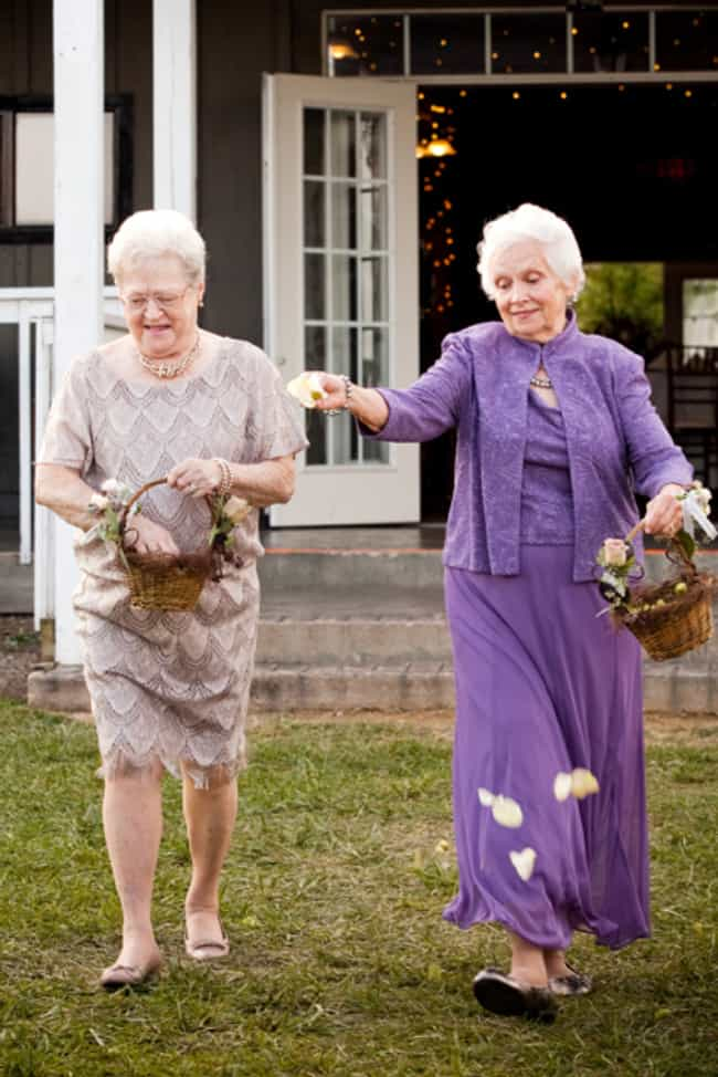 Enlist Your Grandmas to Be You... is listed (or ranked) 4 on the list 26 Quirky Ideas for an Offbeat Wedding