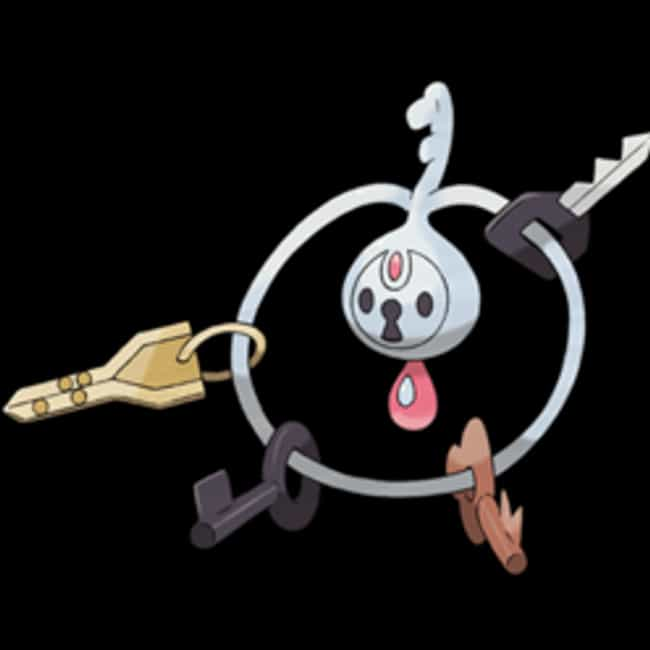 Klefki is listed (or ranked) 4 on the list 20 Lazy Pokemon Designs That Weren't Even Trying
