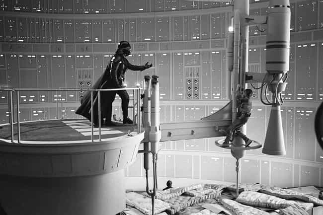 Luke, I Am Your Father Pillows is listed (or ranked) 4 on the list Rare Star Wars Behind-The-Scenes Photos