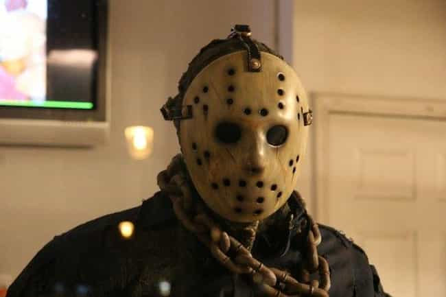 Jason Voorhees's Hockey Ma... is listed (or ranked) 4 on the list The Most Iconic Masks in Movie History