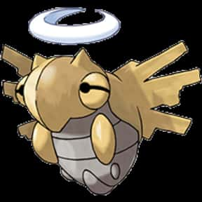 Shedinja is listed (or ranked) 15 on the list The Best Ghost Pokemon of All Time