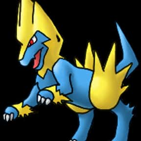 Manectric is listed (or ranked) 14 on the list The Best Dog Pokemon