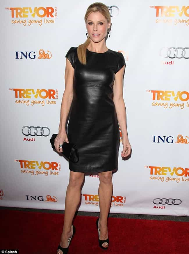 Julie Bowen in Black Spandex D... is listed (or ranked) 4 on the list The Most Stunning Julie Bowen Photos