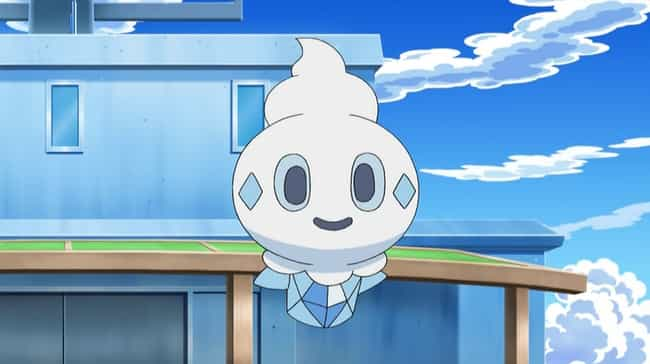 Vanillite is listed (or ranked) 2 on the list 16 Pokemon That Probably Taste Delicious
