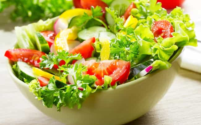 Start with Salad is listed (or ranked) 1 on the list Quick, Healthy Weight Loss Tips