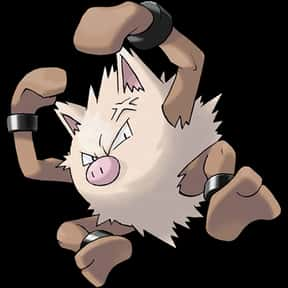 Primeape is listed (or ranked) 11 on the list The Best Fighting Pokemon of All Time