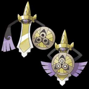 Aegislash is listed (or ranked) 9 on the list The Best Ghost Pokemon of All Time
