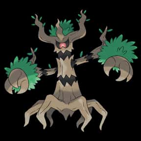 Trevenant is listed (or ranked) 11 on the list The Best Ghost Pokemon of All Time