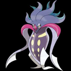 Malamar is listed (or ranked) 25 on the list The Best Dark Pokemon of All Time