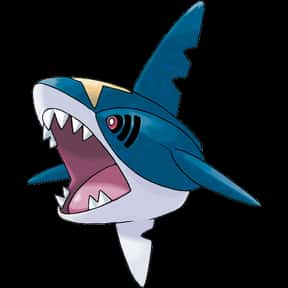 Sharpedo is listed (or ranked) 15 on the list The Best Dark Pokemon of All Time