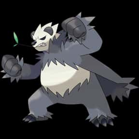 Pangoro is listed (or ranked) 21 on the list The Best Dark Pokemon of All Time