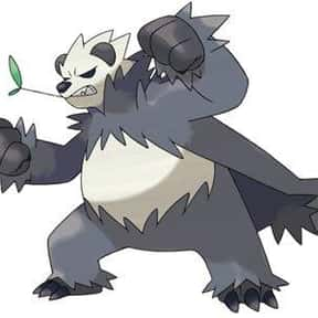 Pangoro is listed (or ranked) 9 on the list The Best Fighting Pokemon of All Time
