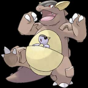 Kangaskhan is listed (or ranked) 4 on the list The Best Normal Pokemon of All Time