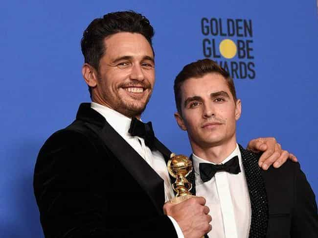 James and Dave Franco is listed (or ranked) 2 on the list Hottest Celebrity Brothers