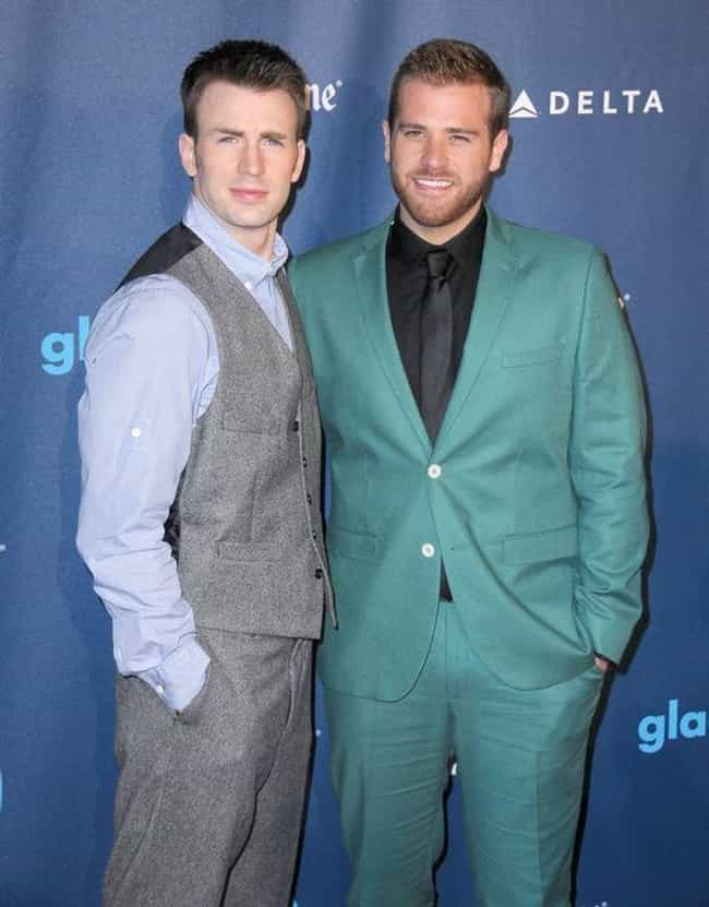 Chris and Scott Evans is listed (or ranked) 4 on the list Hottest Celebrity Brothers
