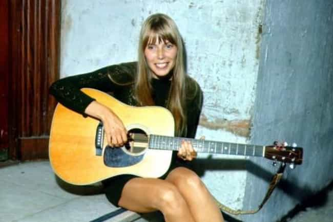 Joni Mitchell in Black Crochet... is listed (or ranked) 2 on the list The Most Stunning Joni Mitchell Pictures