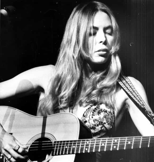 Joni Mitchell in Printed Halte... is listed (or ranked) 1 on the list The Most Stunning Joni Mitchell Pictures