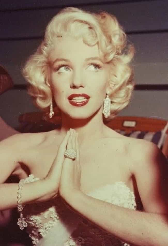 Marilyn Monroe Prays That She'... is listed (or ranked) 4 on the list The Best Photos OfMarilyn Monroe