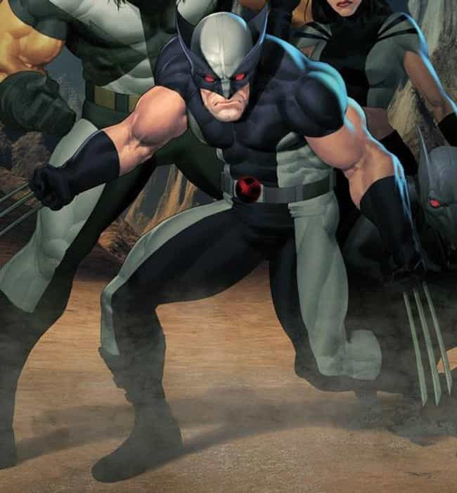 X-Force Wolverine is listed (or ranked) 4 on the list The Greatest Wolverine Costumes of All Time