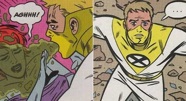 Super Stomach Acid is listed (or ranked) 2 on the list The Lamest Superpowers in Comic Book History
