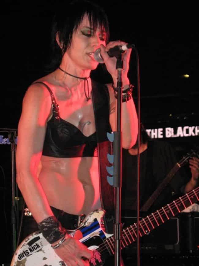 Joan Jett in a Black Bra is listed (or ranked) 2 on the list The Hottest Joan Jett Pictures