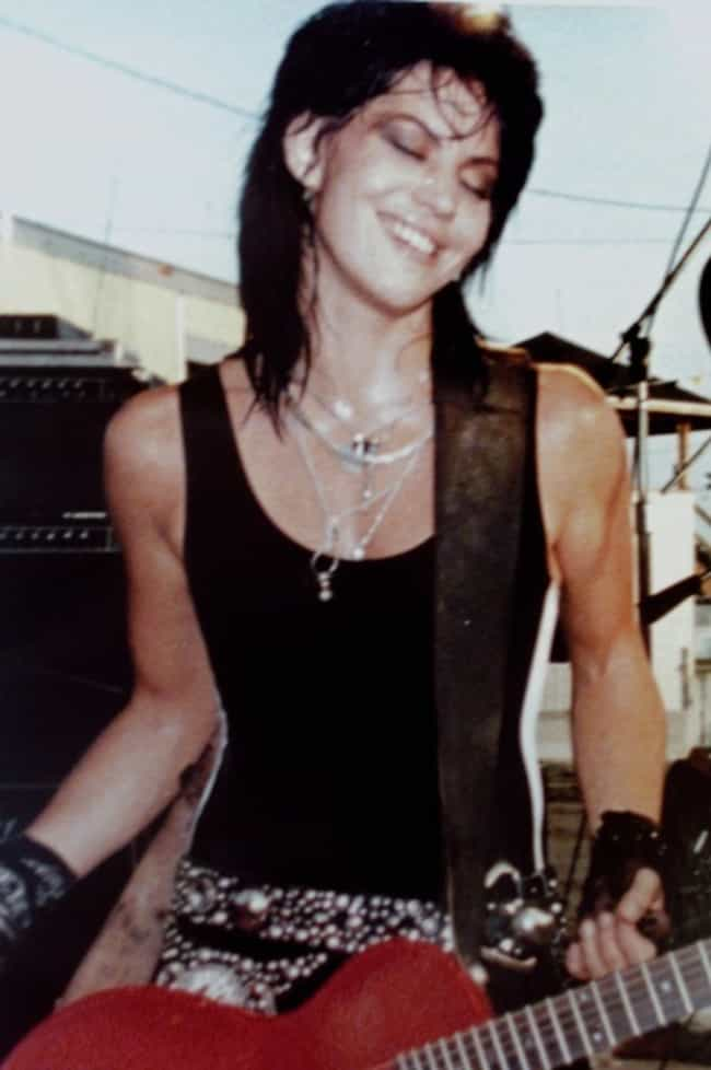 Joan Jett in a Black Sleeveles... is listed (or ranked) 4 on the list The Hottest Joan Jett Pictures