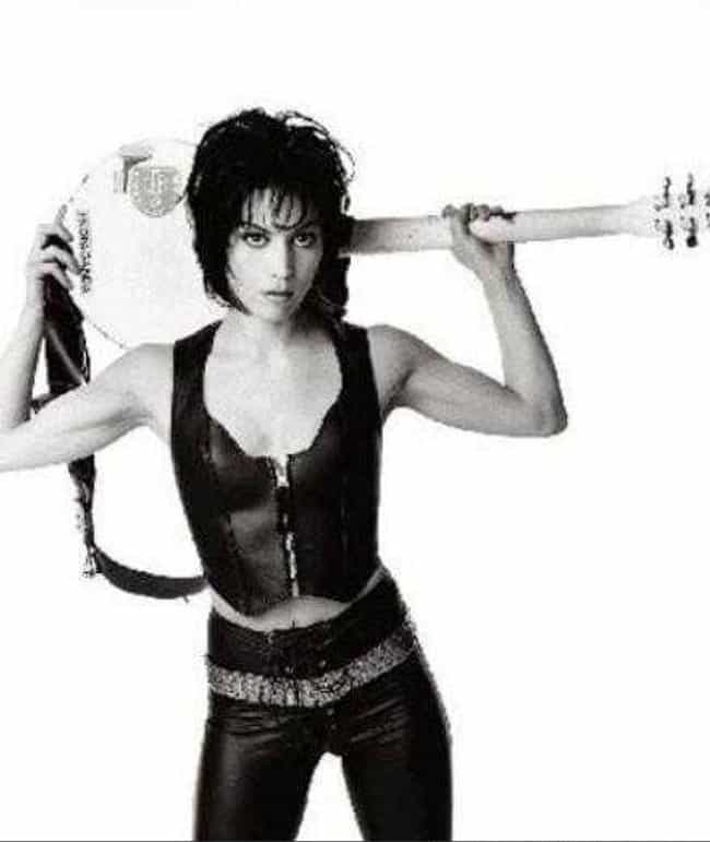 Joan Jett in a Sleeveless Zipp... is listed (or ranked) 3 on the list The Hottest Joan Jett Pictures