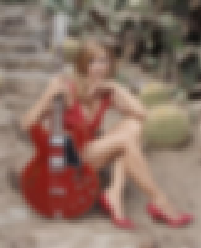 With a red guitar is listed (or ranked) 4 on the list The Hottest Sheryl Crow Pics