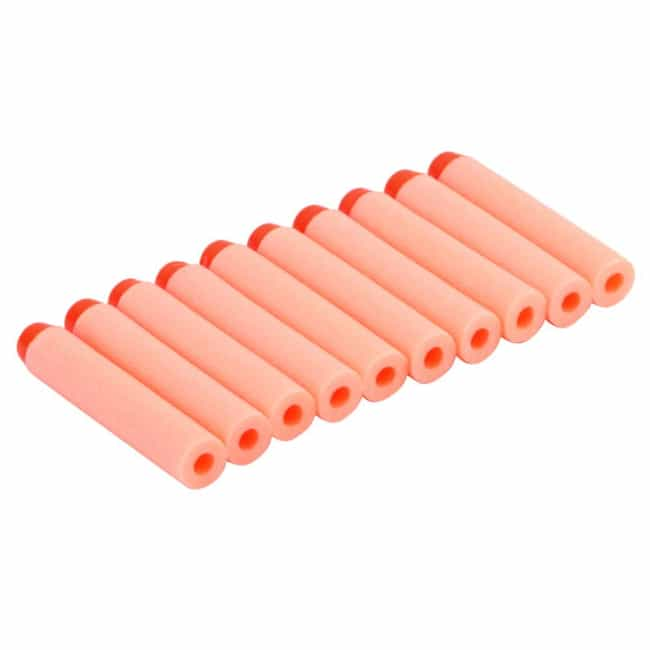 NERF Darts is listed (or ranked) 3 on the list 45 Childhood Toys With Missing Pieces You Definitely Lost