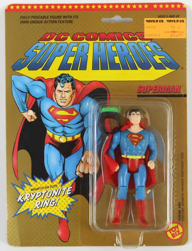 That Detachable Cape You'd Use... is listed (or ranked) 2 on the list 45 Childhood Toys With Missing Pieces You Definitely Lost