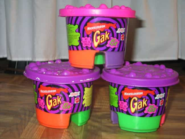 80 Percent of All the GAK in t... is listed (or ranked) 4 on the list 45 Childhood Toys With Missing Pieces You Definitely Lost