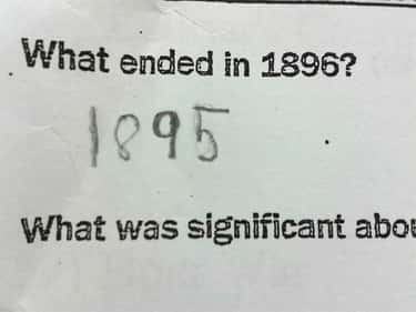 She's Not Wrong... is listed (or ranked) 2 on the list Hilarious Test Answers From Kids