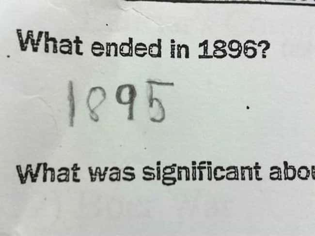 She's Not Wrong... is listed (or ranked) 22 on the list 53 Hilarious Test Answers From Kids