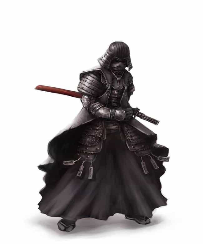 Samurai Darth Vader is listed (or ranked) 2 on the list 19 Nerdtastic Pieces of Pop Culture Art