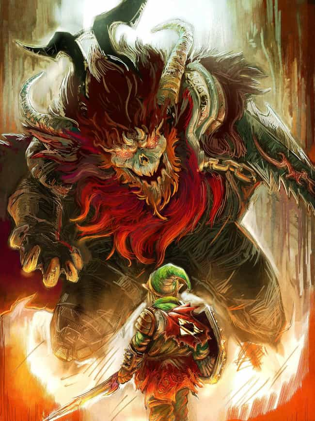 Link And Ganon is listed (or ranked) 4 on the list 19 Nerdtastic Pieces of Pop Culture Art