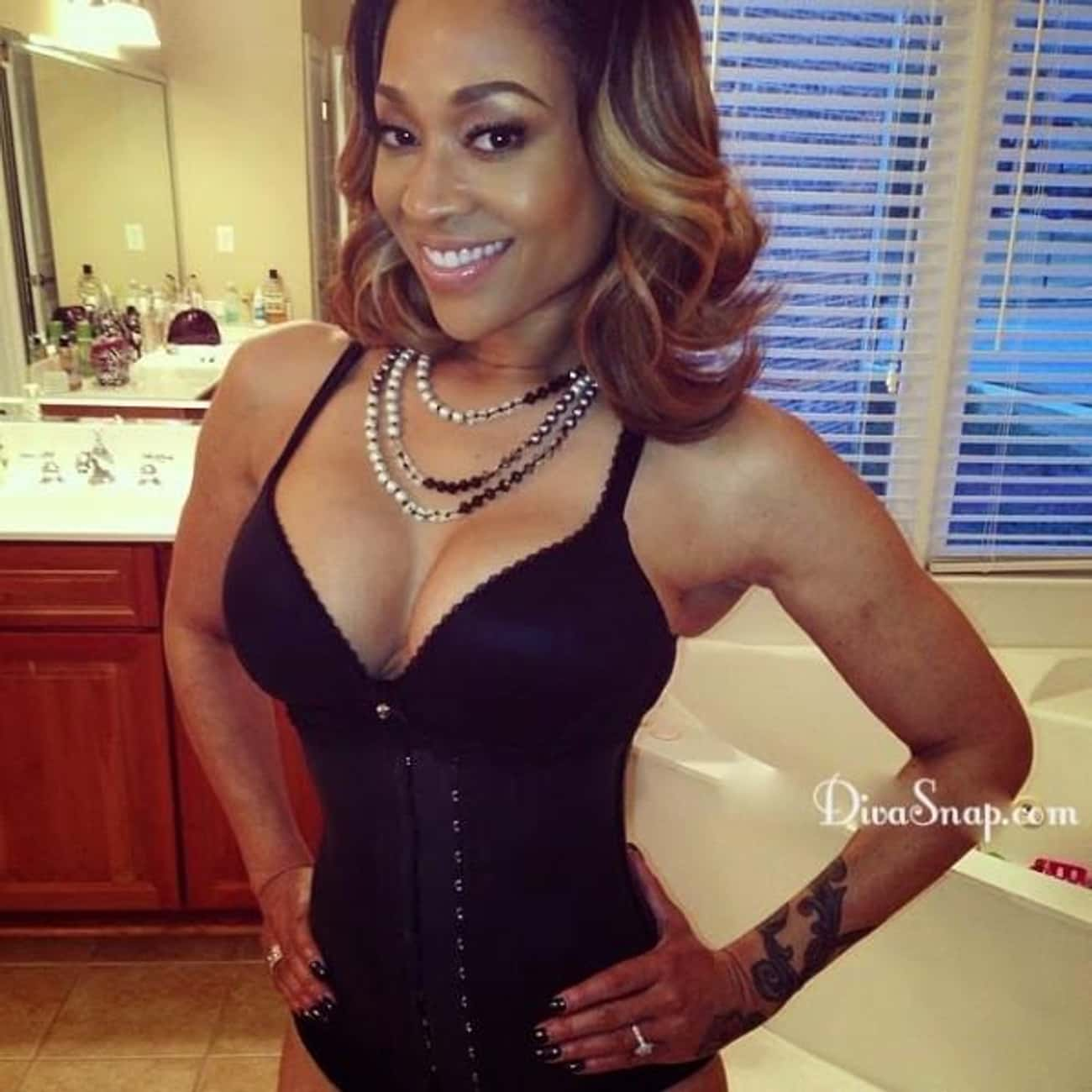 Mimi Faust is listed (or ranked) 3 on the list 37 Celebrities Caught With Leaked Tapes