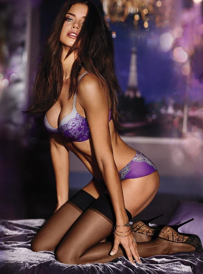 Adriana Lima Is Ready To Conquer Paris