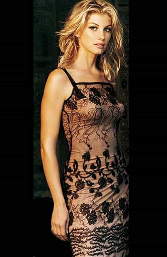 In a blank space. is listed (or ranked) 3 on the list The Hottest Faith Hill Photos