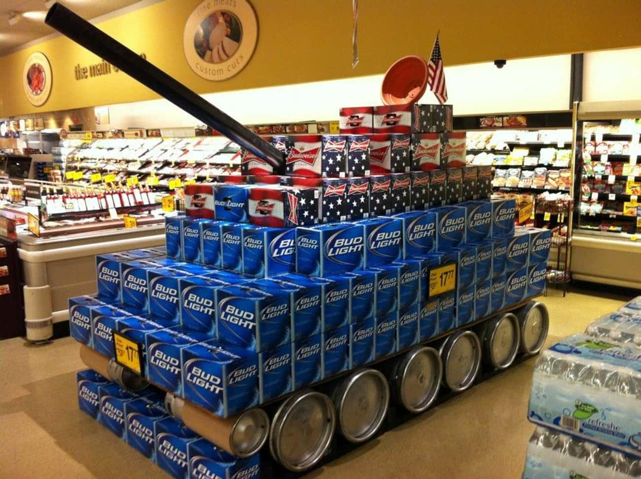 Beer Tank is listed (or ranked) 3 on the list The Most American Things That Have Ever Happened