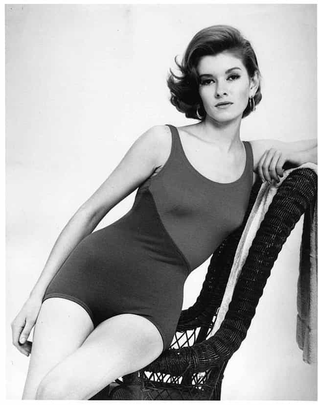 Sitting sideways on a chair is listed (or ranked) 3 on the list The Most Stunning Pictures Of A Young Martha Stewart