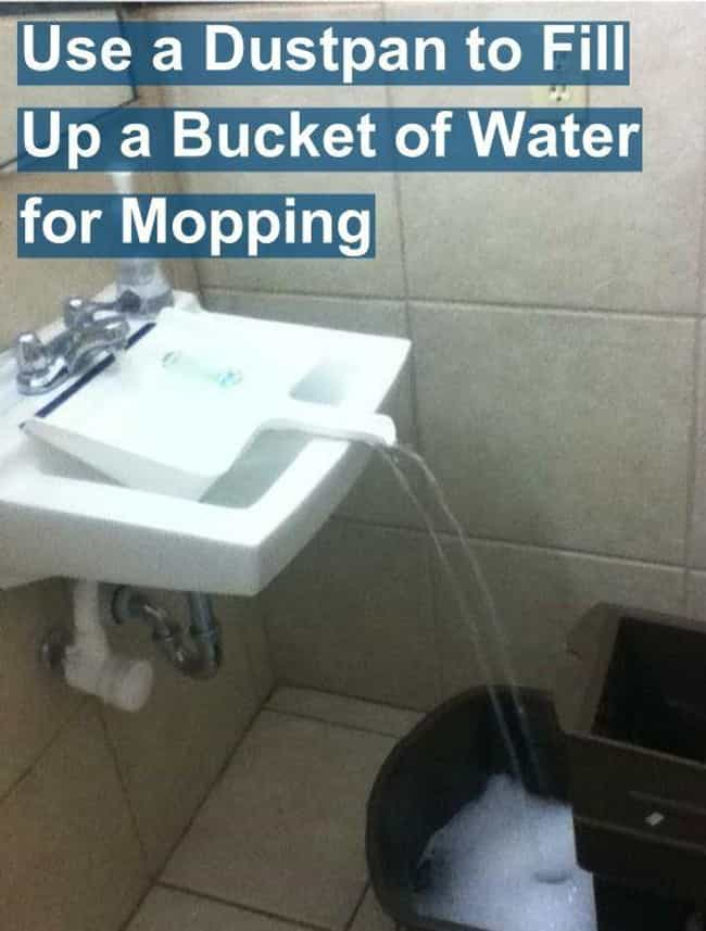 How To Fill A Big Bucket... is listed (or ranked) 3 on the list 36 Life Hacks That Will Change Your World