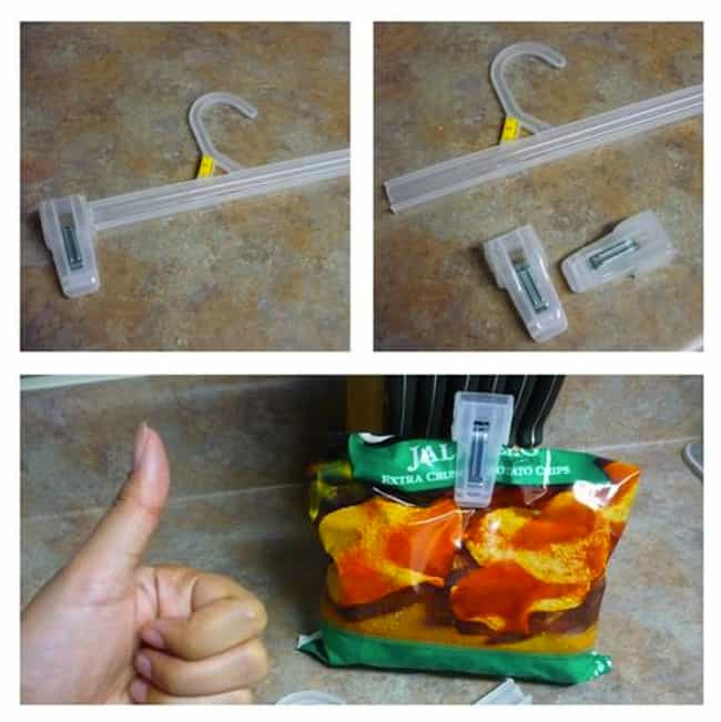 How To Make Chip Clips ... is listed (or ranked) 4 on the list 36 Life Hacks That Will Change Your World