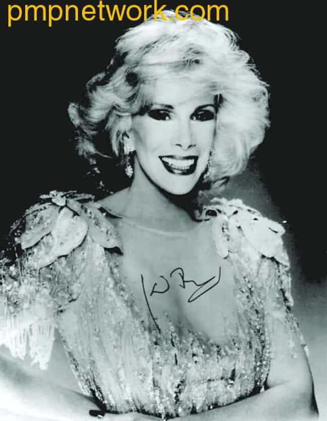 In a glamorous gown is listed (or ranked) 2 on the list 17 Pictures Of A Young Joan Rivers