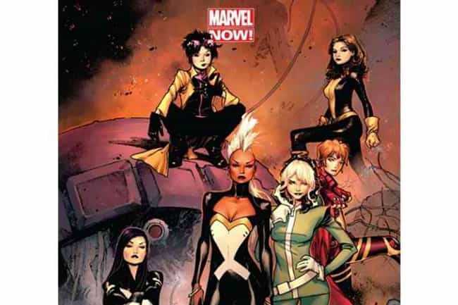All-Female X-Men Team is listed (or ranked) 3 on the list The Greatest All-Female Superhero Teams & Ensembles