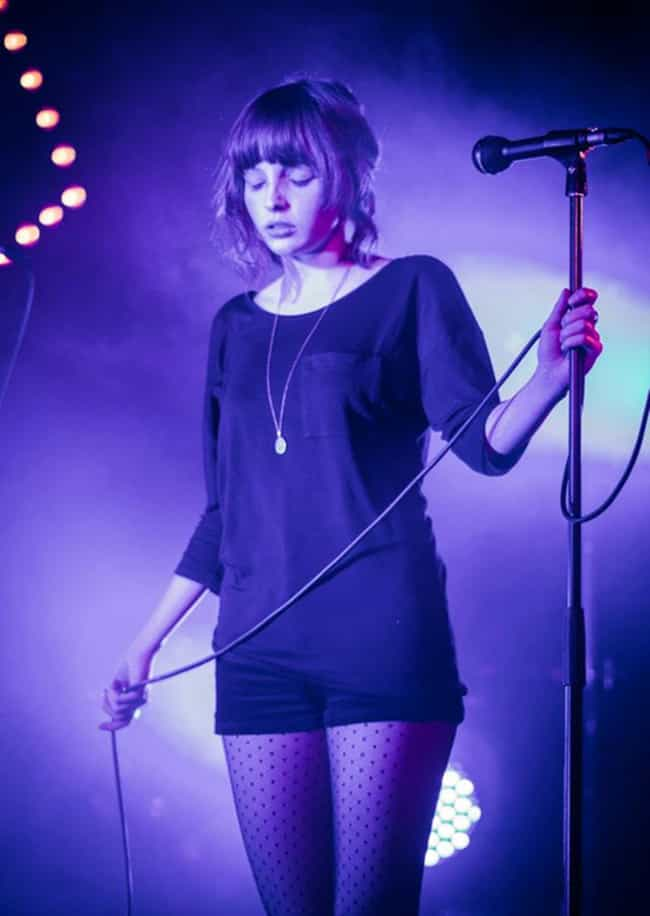 Lauren Mayberry in a Black Blo... is listed (or ranked) 3 on the list The Most Stunning Lauren Mayberry Photos