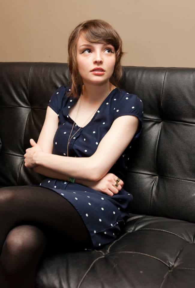 Lauren Mayberry in a Black Dot... is listed (or ranked) 1 on the list The Most Stunning Lauren Mayberry Photos