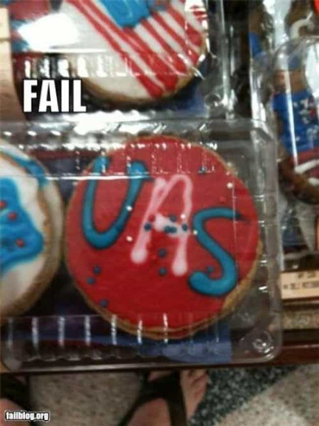 Spelling Doesn't Count, Right? is listed (or ranked) 1 on the list 23 Tragic 4th Of July Pinterest Fails